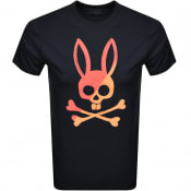 Product Image for Psycho Bunny Andover Logo T Shirt Navy